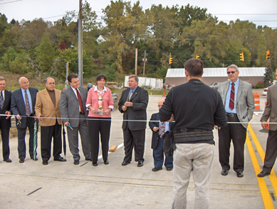 Lancaster Bridge Ribbon Cutting Ceremony
